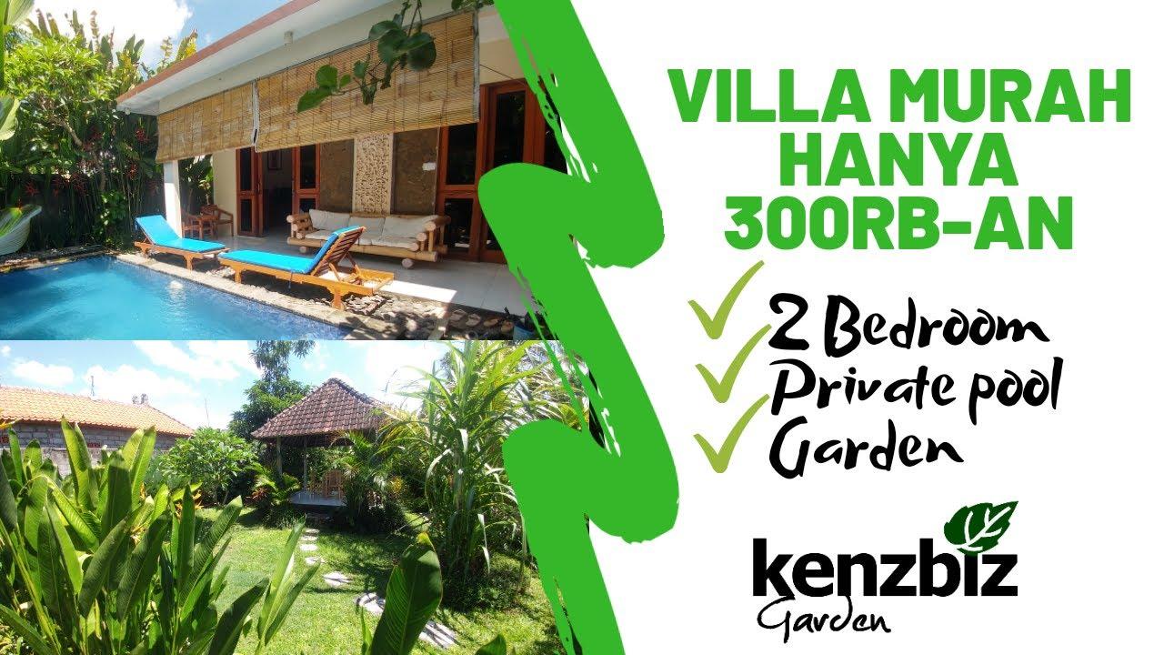 Villa Murah 300ribuan Usd 21 Bali Villa Near Ubud Youtube