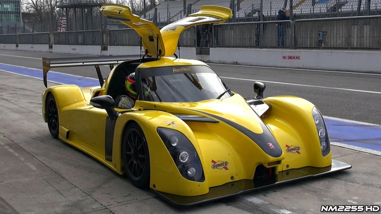 OnBoard the new 2014 Radical RXC V8 - YouTube
