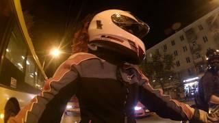 Daryshka PRODUCTION.Девушка за рулем мотоцикла
