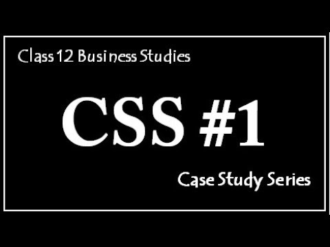 Case 1, Case Study Series (Mind Your Own Business)