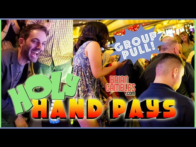 💰💰💰 MONSTER Group Slot Pull ✦ HOLY HAND PAYS!! ✦ Join at BrianGambles.com