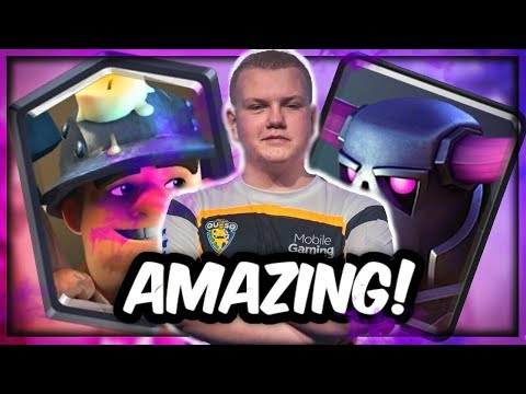 SUPER SOLID! Pekka Miner Control Deck for Grand Challenges/Tournaments! - Clash Royale