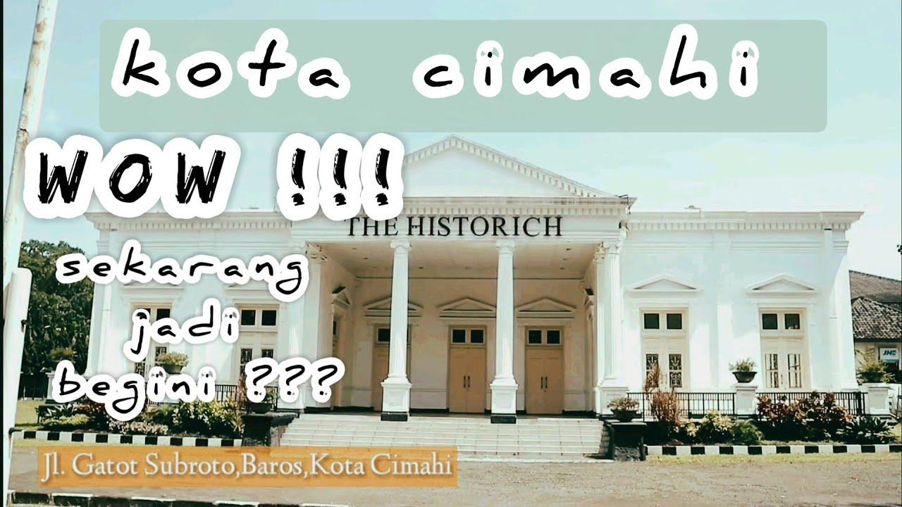 Kota Cimahi Bandung Jawa Barat    jalan jalan di kota ...