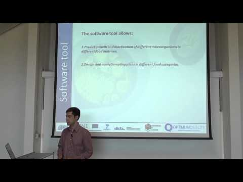 Software tool demonstration for predictive models and sampling plans