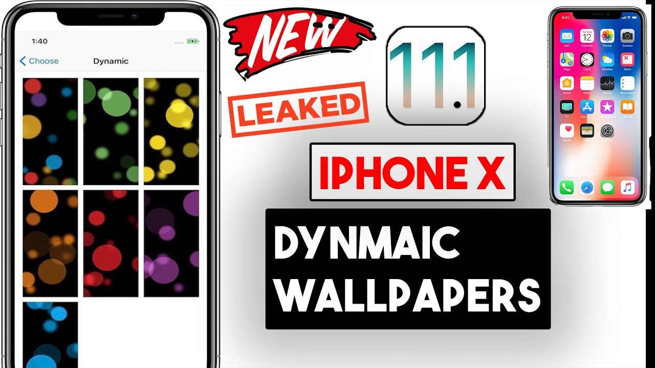 Ios Dynamic Wallpaper 66 Images: Apple IPhone X Special Dynamic Wallpapers (LEAKED) IOS 11