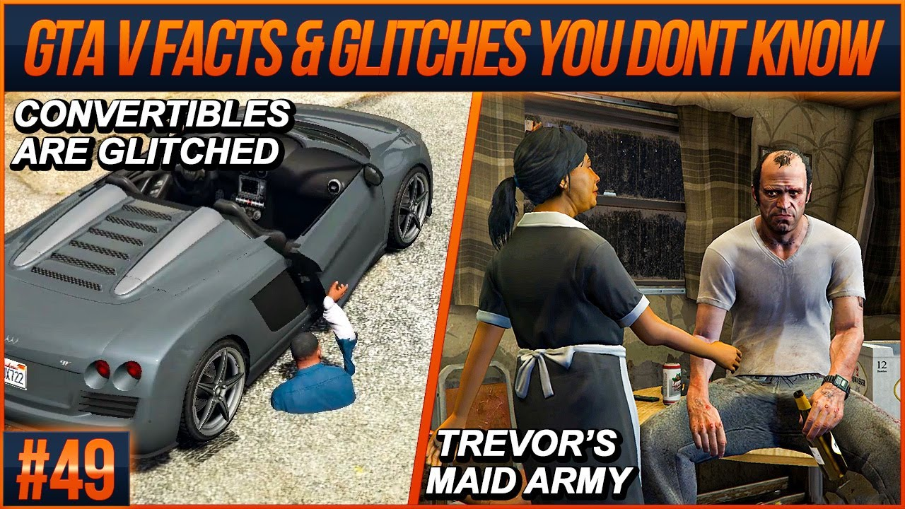 GTA 5 Facts and Glitches You Don't Know #49 (From Speedrunners)