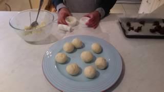 Making Nutella Arancini