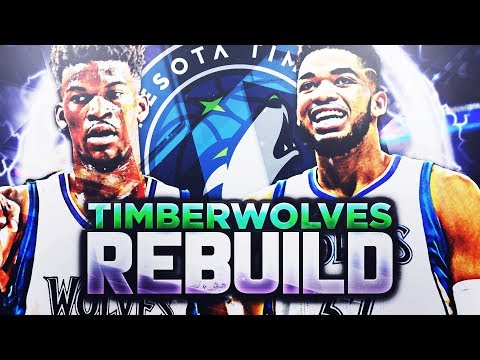 7 90 OVERALLS IN 2 YEARS!! TWOLVES REBUILD!! NBA 2K18
