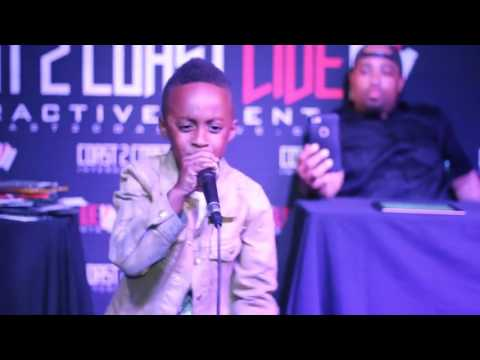 QuanQuan Tha GoldenChild Performs at Coast 2 Coast LIVE | Dallas All Ages Edition 5/24/17