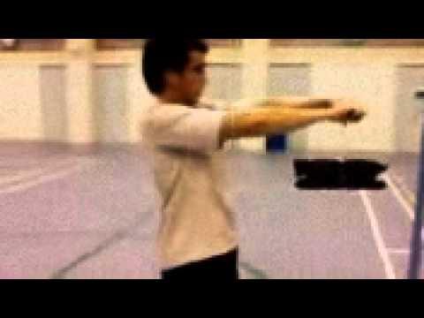 Video badminton Wrist power - agustus 2015