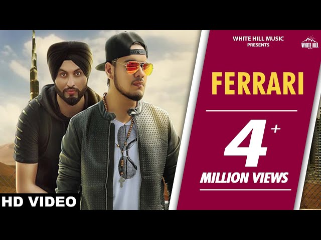 Ferrari (Full Song) | Sukhi Sidhu | Preet Hundal | Latest Punjabi Song 2017 | White Hill Music