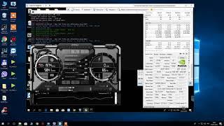 Тест. Оверлок. Nvidia P-104-100