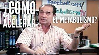 Episodio #3: ¿Cómo acelerar el metabolismo para bajar de peso más rápidamente thumbnail