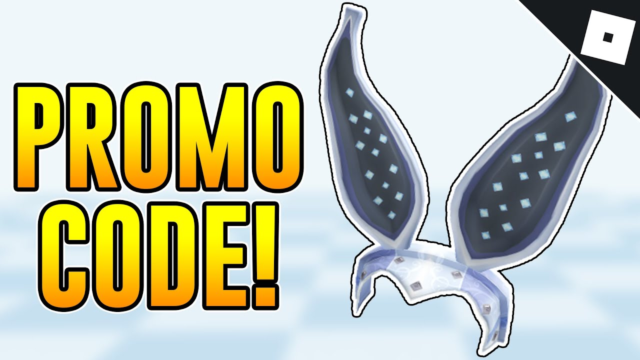 PROMO CODE How to get the STEEL RABBIT EARS Roblox YouTube