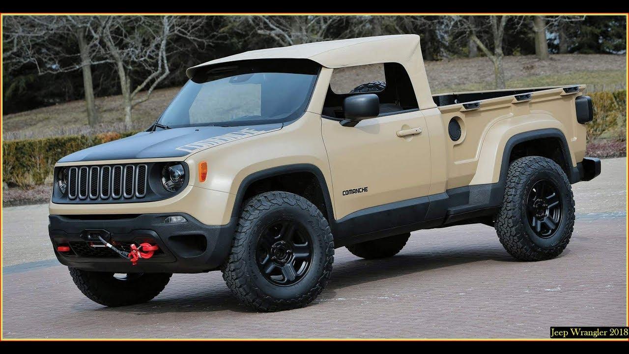 jeep wrangler 2018 pickup spied spy shots