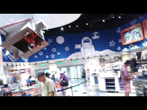 Kennedy space centre - gift shop