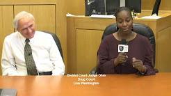 Drug Court-Judge Ohm & Lisa Washington Faith based transformation