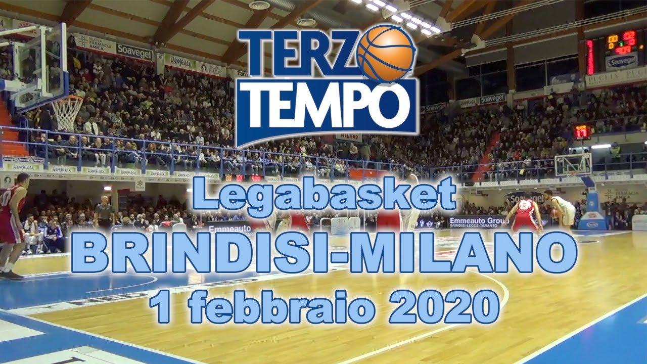 Terzo Tempo HAPPY CASA BRINDISI-MILANO 74-77 (1 febbraio 2020)