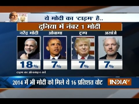 Will PM Narendra Modi win Times Person of 2016?