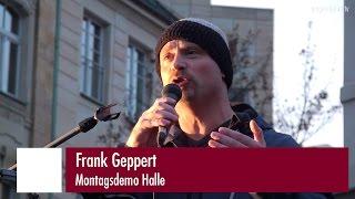 Frank Geppert spricht in Plauen am 8. November 2015