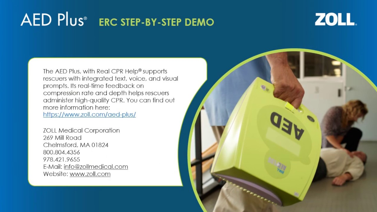 AED Plus Step-by-Step Demo ERC - Automated External