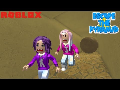 Roblox: Escape the Pyramid Obby ⚱️ / CRUSHED BY A GIANT BOULDER!