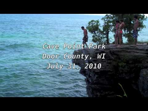 door county cliff jump (7/31/10)
