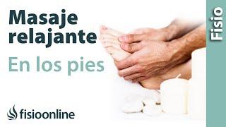 Cómo dar un masaje relajante en los pies y mejorar el dolor de pies