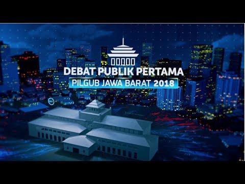 Debat Publik Pertama: Pilgub Jawa Barat