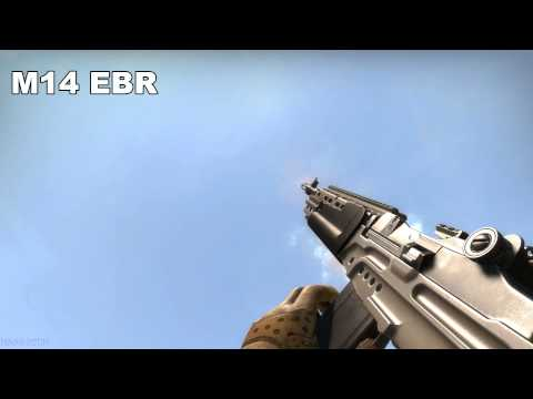 Insurgency  2 All Weapons In Slow Motion [MAX DETAILS, FULL HD]