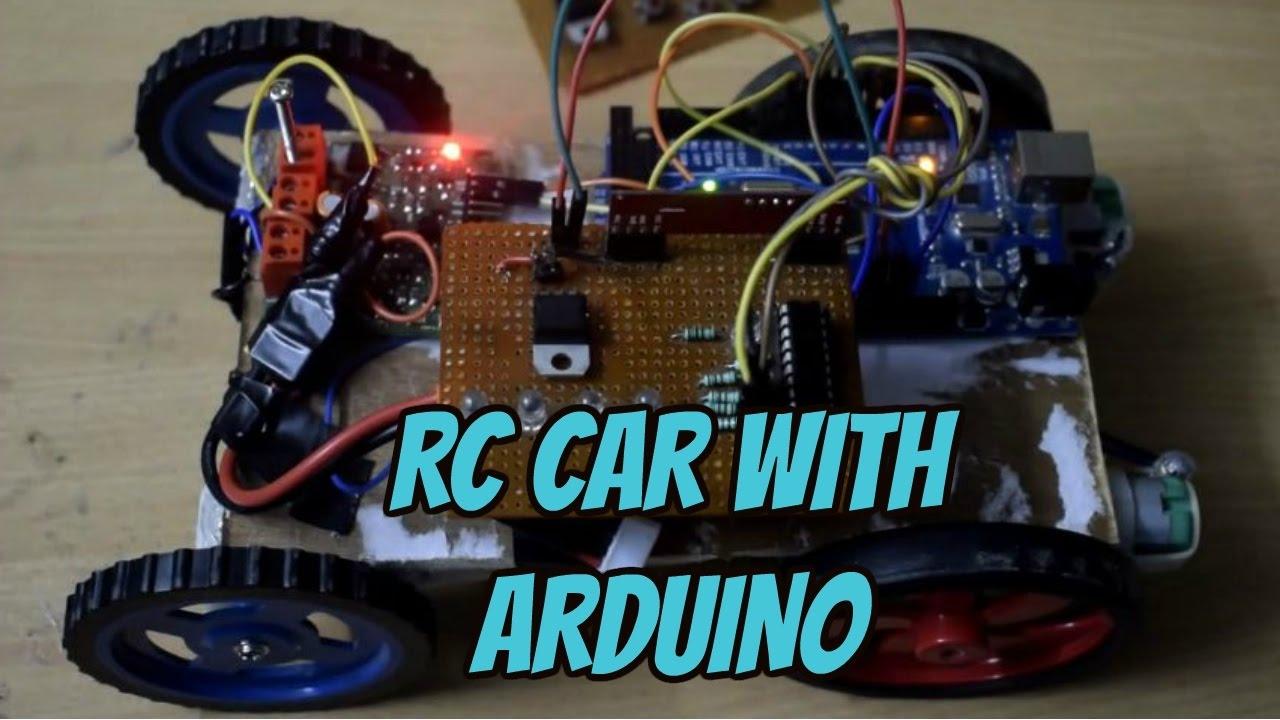 Arduino rc car code with rf youtube