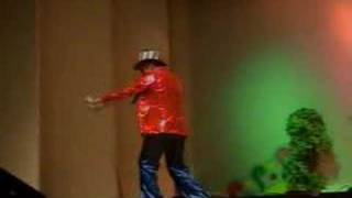 This was just a school-based high school broadway singing contest. ...