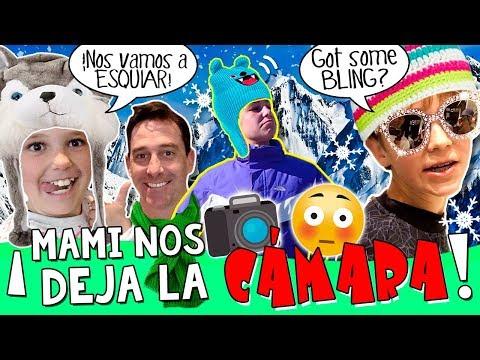 ⛷Vamos a ESQUIAR a Andorra SIN MAMI... ¡¡y Grabamos Esto!! * 📸 Nuestro PRIMER VLOG SOLOS con PAPI!