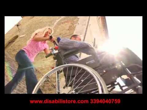 saliscale cingolato per disabili e anziani youtube