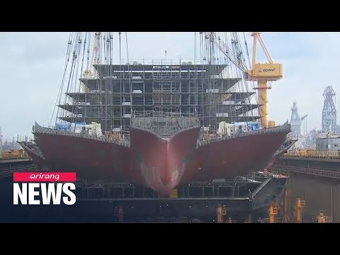 S. Korea Overtakes China As No. 1 In Shipbuilding Orders In Oct.