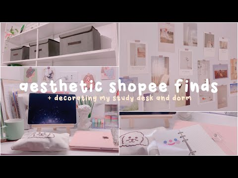 Aesthetic Shopee Finds