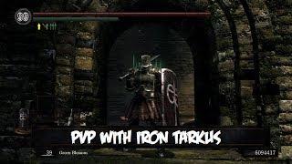PvP with Iron Tarkus - (Dark Souls Cosplay)