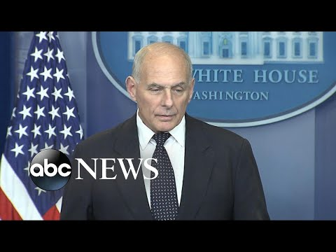 Gen. John Kelly makes deeply personal remarks about loss of his son