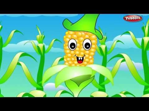 Maize Rhyme | Vegetable Rhymes for Children | Nursery Rhymes for Kids | Most Popular Rhymes HD