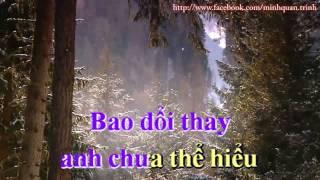 Giận mà thương karaoke Phạm Phương Thảo & Đức Long