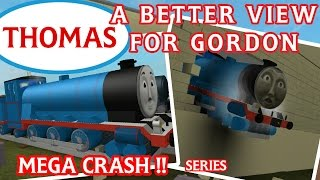 Thomas and Friends : A Better View For Gordon | Roblox Accidents & Crash Remake