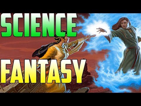 "Fantasy & Science Fiction mixed PROPERLY! Science Fantasy | ""Darkover"" 