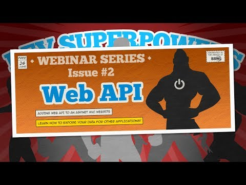 Adding Web API to your ASP .NET website | Dev SuperPowers Episode #2 | David Burela