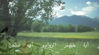 لغة الخلود الصف السادس الإبتدائي كلمات سامي العجلان أداء محمد العود Youtube