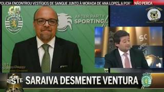 Nuno Saraiva Diretor Comunicação do Sporting Liga Para a CMTV em Direto e INSULTA André Ventura
