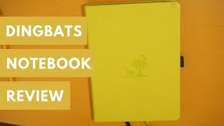 Coolest Notebook Feature Ever?! | Dingbats* Bullet Journal Notebook Review
