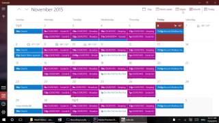 Windows 10 In Depth: Calendar app
