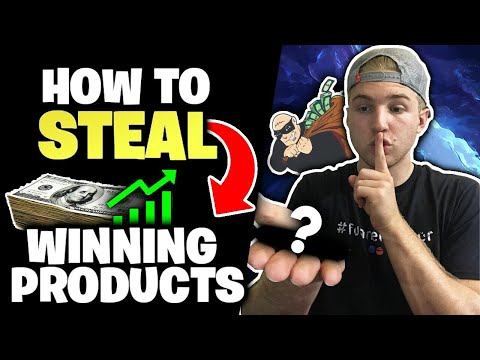How To STEAL Winning Products (Dropshipping HACKS)