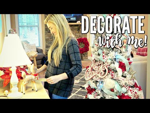 DECORATE WITH ME FOR CHRISTMAS 2017 | DIY CHRISTMAS HOME DECOR | LoveMeg