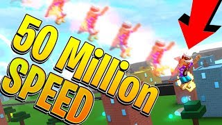 ROBLOX SPEED SIMULATOR 2 *50 MILLION SUPER SPEED*